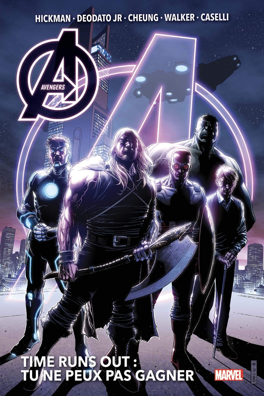Couverture de Avengers - Time Runs Out -INT1- Tu ne peux pas gagner