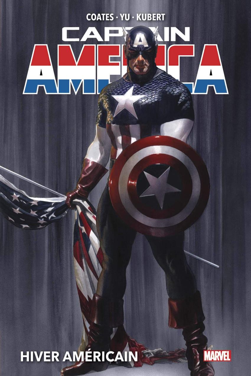 Couverture de Captain America - Fresh Star (Marvel Deluxe) -1- Hiver Américain