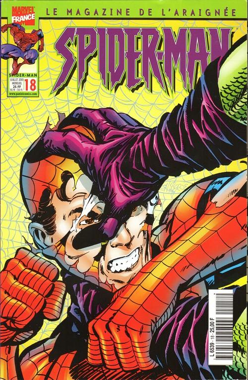Couverture de Spider-Man (Marvel France 2e série - 2000) -18- Black-out