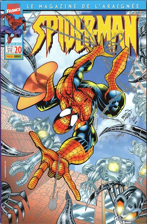 Couverture de Spider-Man (Marvel France 2e série - 2000) -20- Le piège