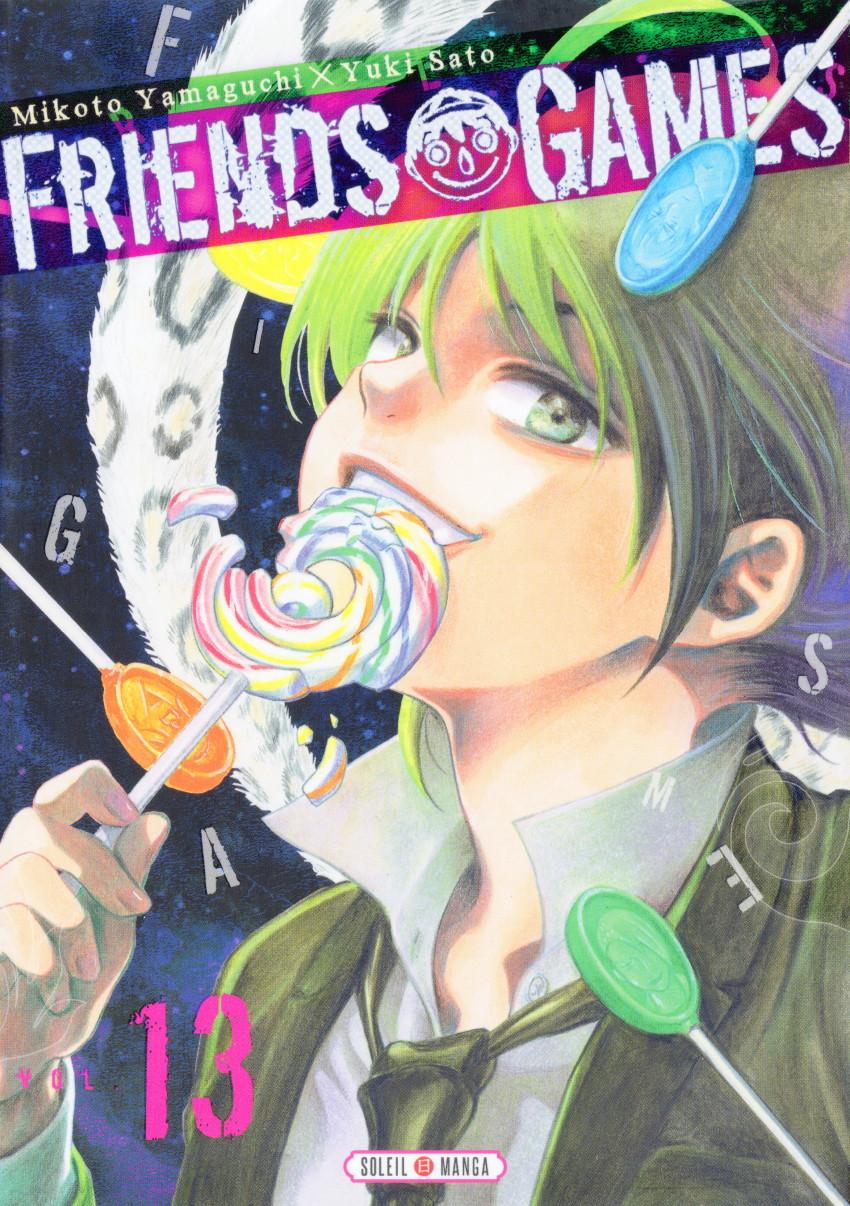 Couverture de Friends Games -13- Tome 13