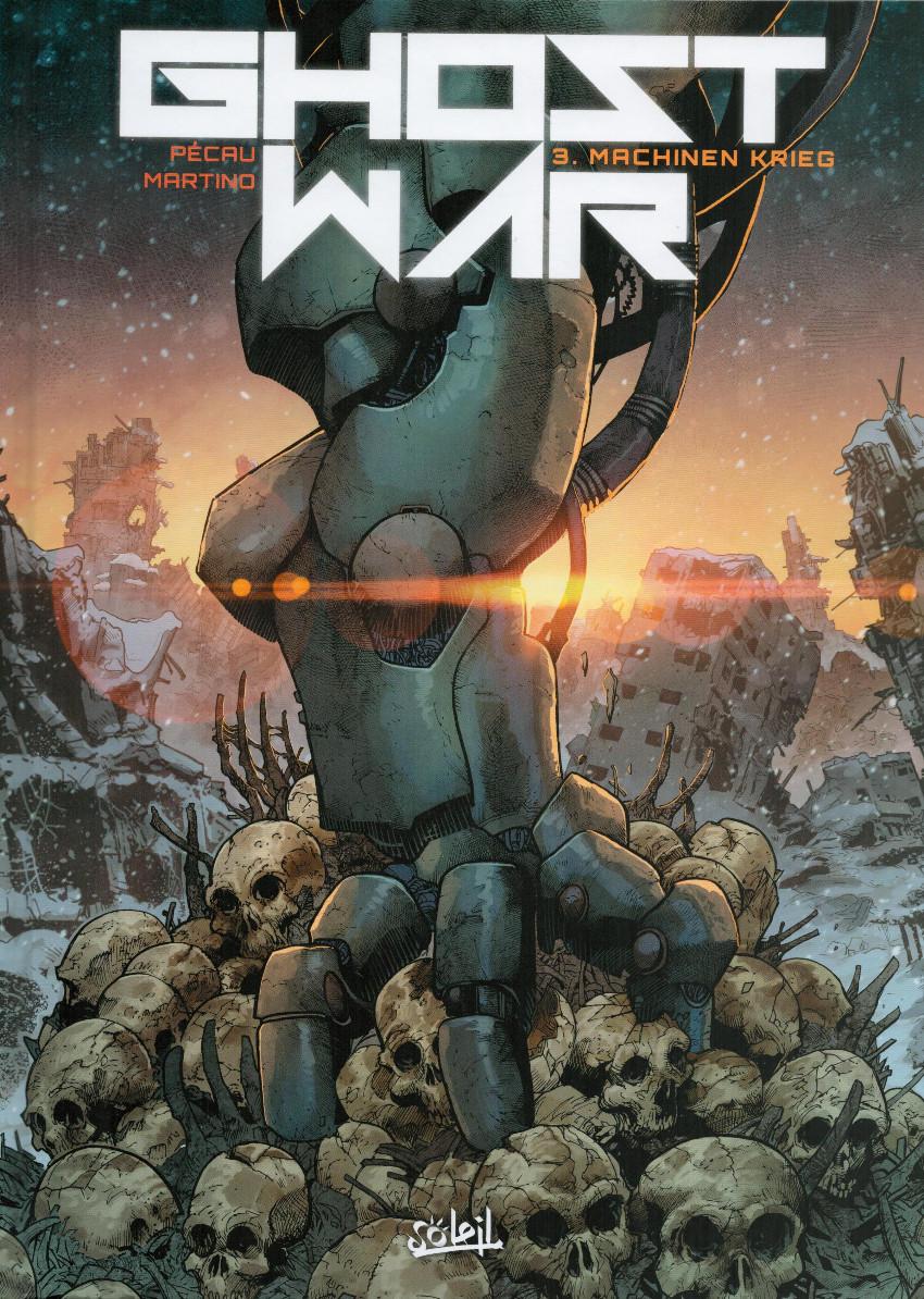 Couverture de Ghost war -3- Machinen Krieg