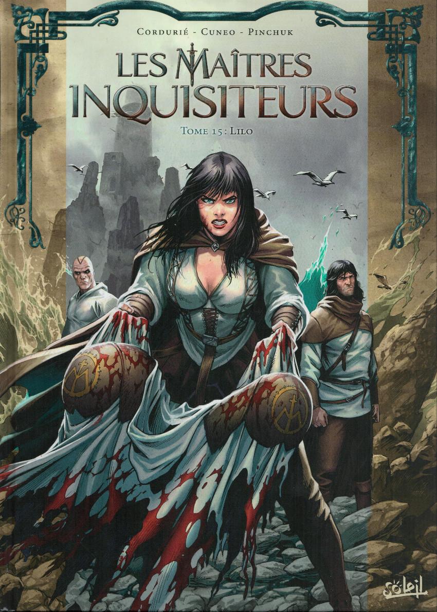 Couverture de Les maîtres Inquisiteurs -15- Lilo