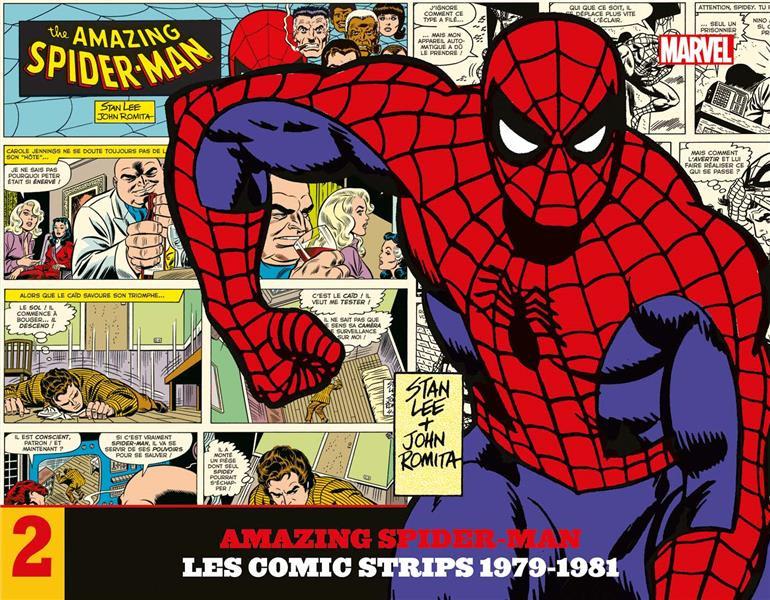 Couverture de Amazing Spider-Man : Les Comic Strips -2- Amazing Spider-Man : Les comic strips - 1979-1981