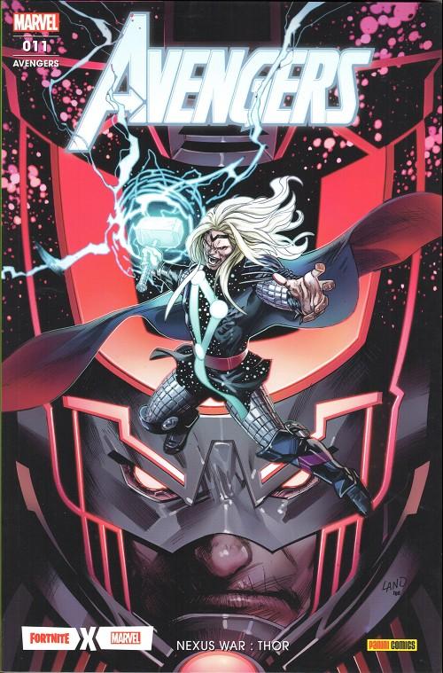 Couverture de Avengers (Marvel France - 2020) -11- Nexus war : thor
