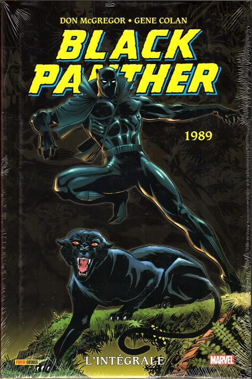 Couverture de Black Panther (L'intégrale) -4- L'intégrale 1989