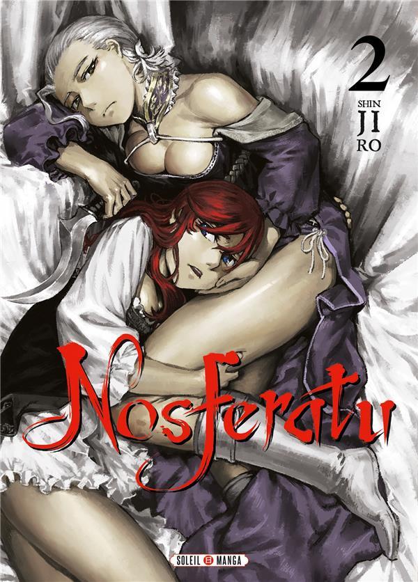 Couverture de Nosferatu (Shinjiro) -2- Tome 2