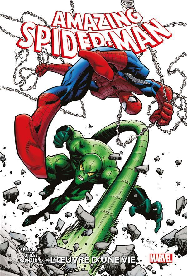 Couverture de Amazing Spider-Man (100% Marvel) -3- L'Œuvre d'une vie