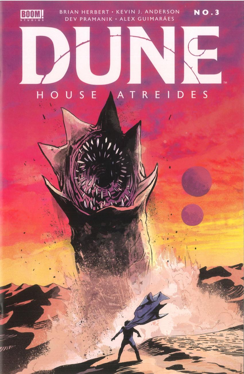 Couverture de Dune: House Atreides -3- Issue #3