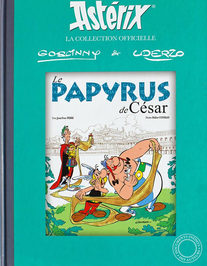 Couverture de Astérix (Hachette collections - La collection officielle) -36- Le papyrus de César