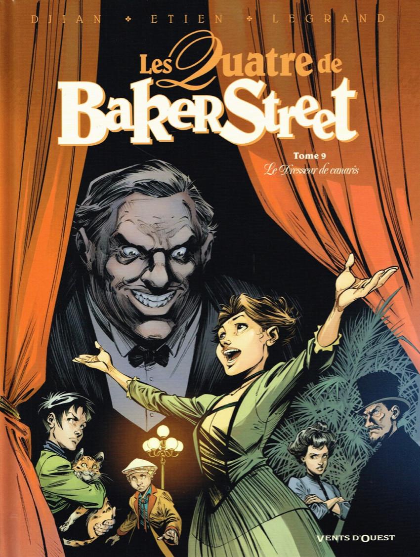 Couverture de Les quatre de Baker Street -9- Le Dresseur de canaris
