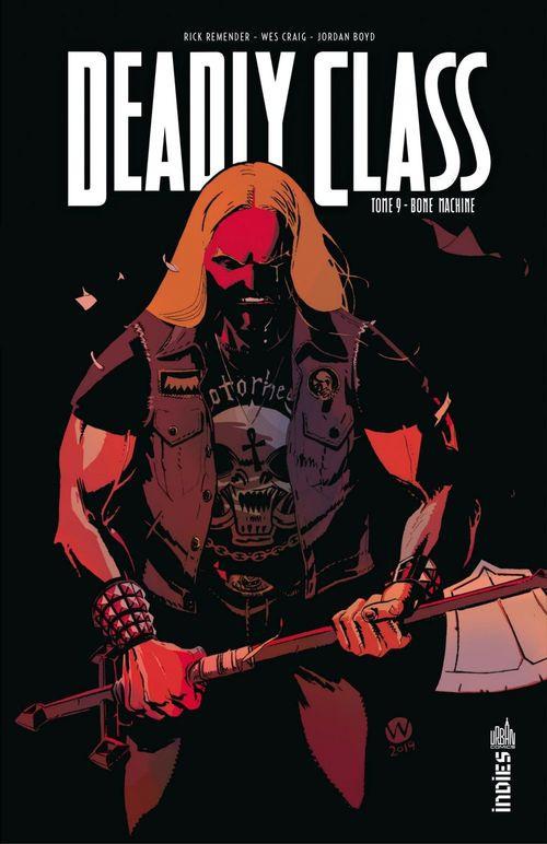 Couverture de Deadly Class -9- Bone machine
