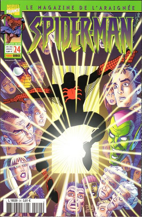 Couverture de Spider-Man (Marvel France 2e série - 2000) -24- L'appel des ténèbres