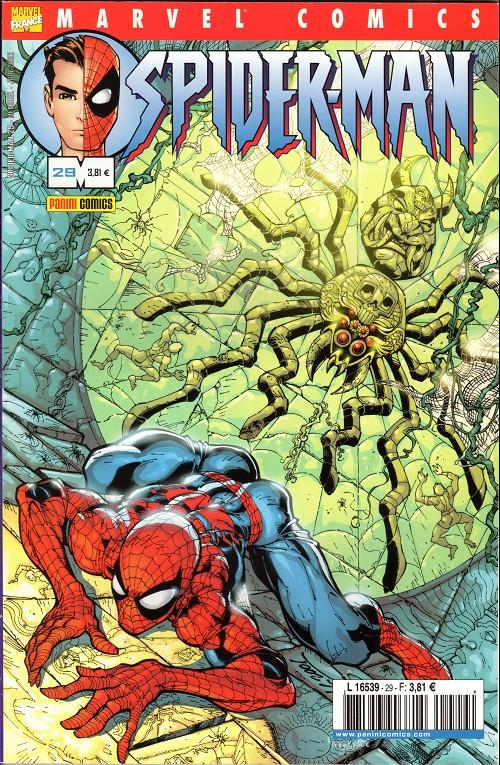 Couverture de Spider-Man (Marvel France 2e série - 2000) -29- Un homme brissé