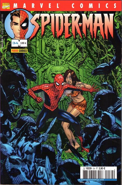 Couverture de Spider-Man (Marvel France 2e série - 2000) -34- Le roi des araignées