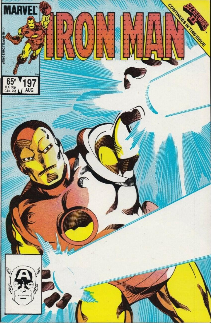 Couverture de Iron Man Vol.1 (Marvel comics - 1968) -197- Call Him... Thundersword!