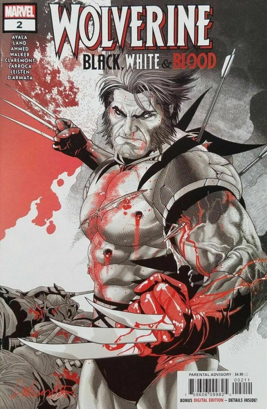 Couverture de Wolverine: Black, White & Blood (Marvel comics - 2020) -2- Unfinished Business