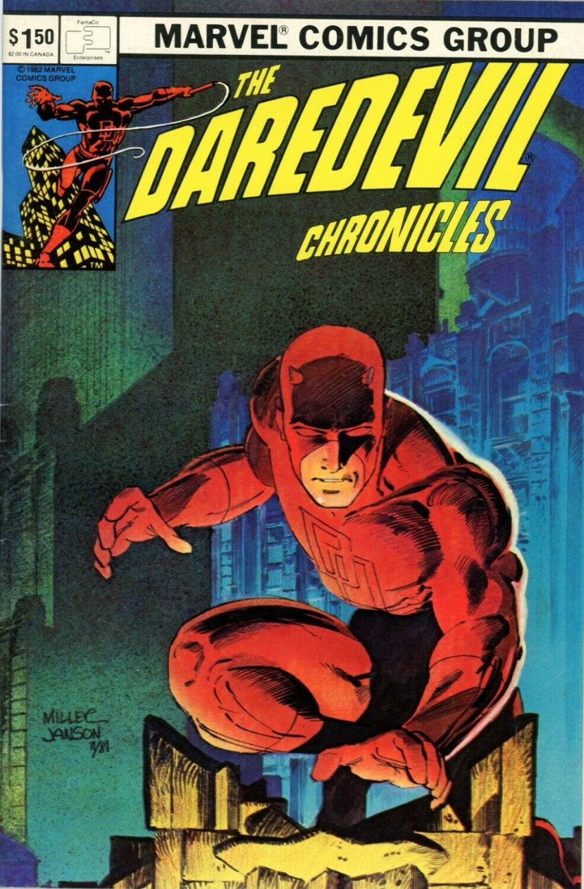 Couverture de FantaCo's Chronicles Series (1981) -3- Daredevil Chronicles