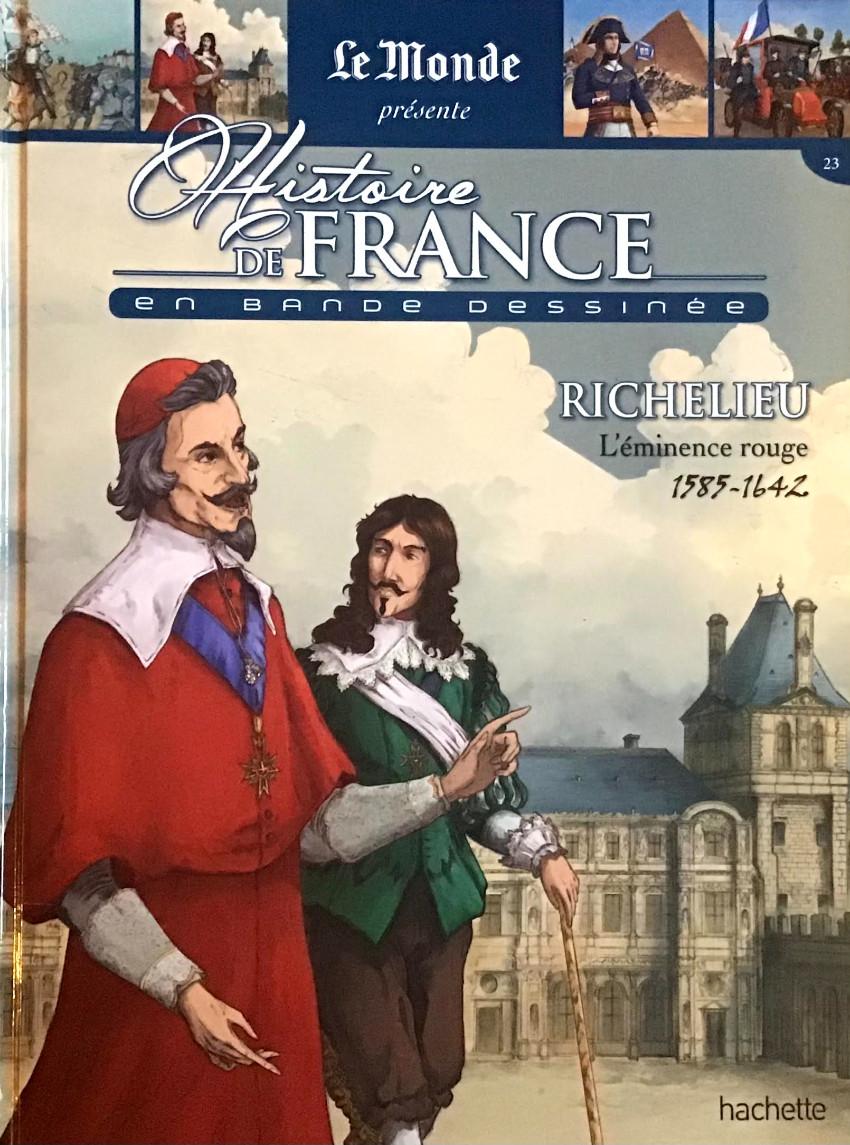 Couverture de Histoire de France en bande dessinée -24- Richelieu l'éminence rouge 1585/1642