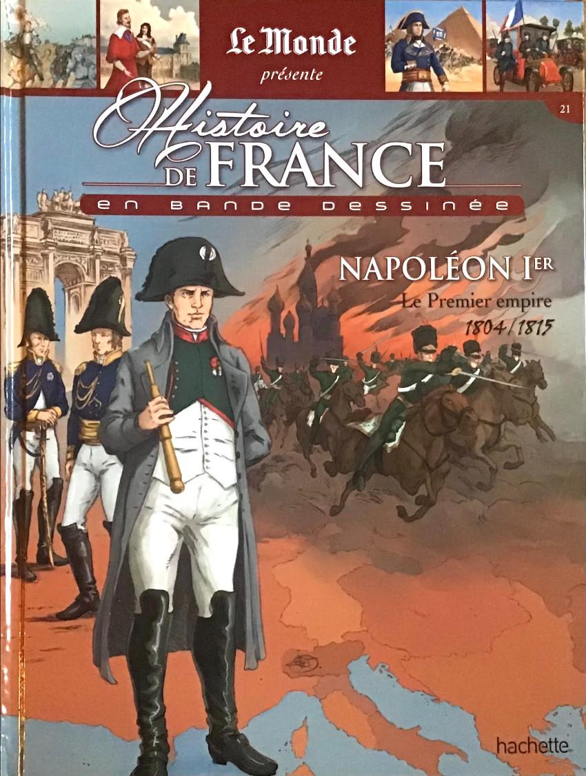 Couverture de Histoire de France en bande dessinée -36- Napoléon 1er le Premier empire 1804/1815