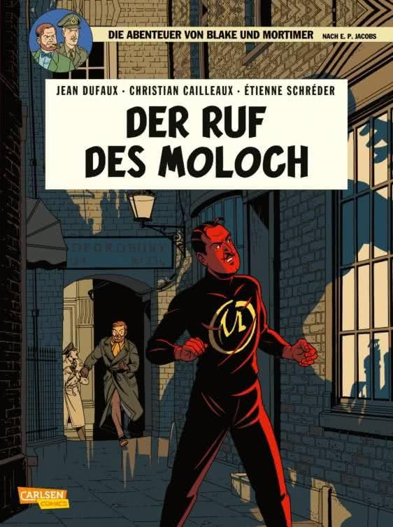 Couverture de Blake und Mortimer (Die Abenteuer von) -24- Der Ruf des Moloch