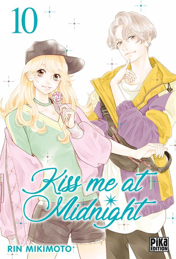 Couverture de Kiss me at Midnight -10- Tome 10