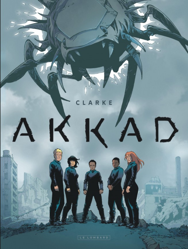 Couverture de Akkad