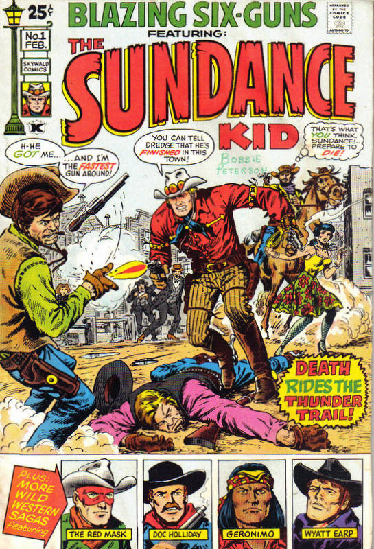 Couverture de Blazing Six-Guns (Skywald Publications - 1971) -1- Issue # 1