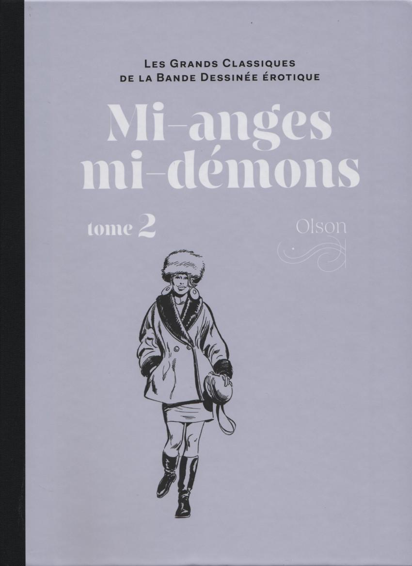Couverture de Les grands Classiques de la Bande Dessinée érotique - La Collection -120127- Mi-anges mi-démons - Tome 2