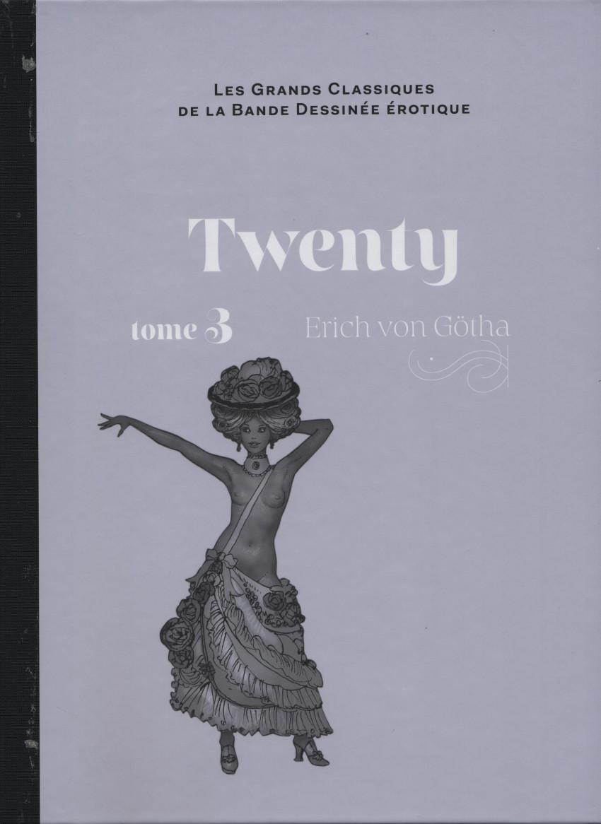 Couverture de Les grands Classiques de la Bande Dessinée érotique - La Collection -121111- Twenty - Tome 3