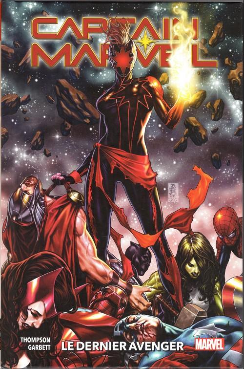 Couverture de Captain Marvel (2019) -3- Le dernier avenger