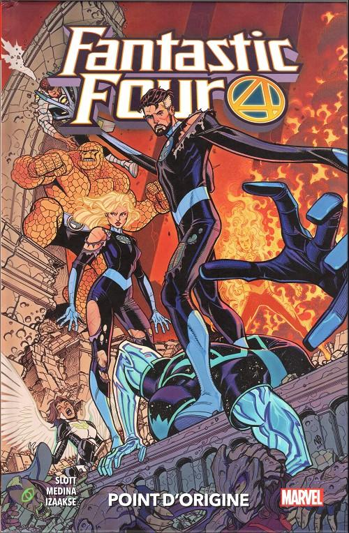 Couverture de Fantastic Four (100% Marvel - 2019) -5- Point d'origine