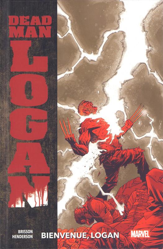 Couverture de Dead Man Logan -2- Bienvenue, Logan