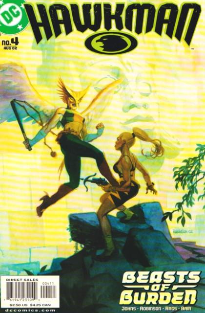 Couverture de Hawkman Vol.4 (DC comics - 2002) -4- Beasts of burden