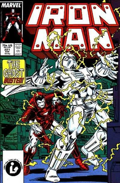 Couverture de Iron Man Vol.1 (Marvel comics - 1968) -221- Ghost in the machine!