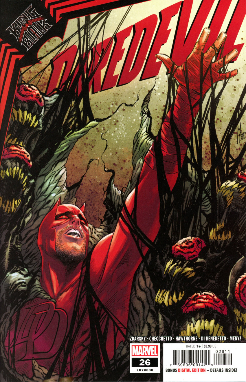 Couverture de Daredevil Vol. 6 (Marvel comics - 2019) -26- The Black Kitchen: Part 1