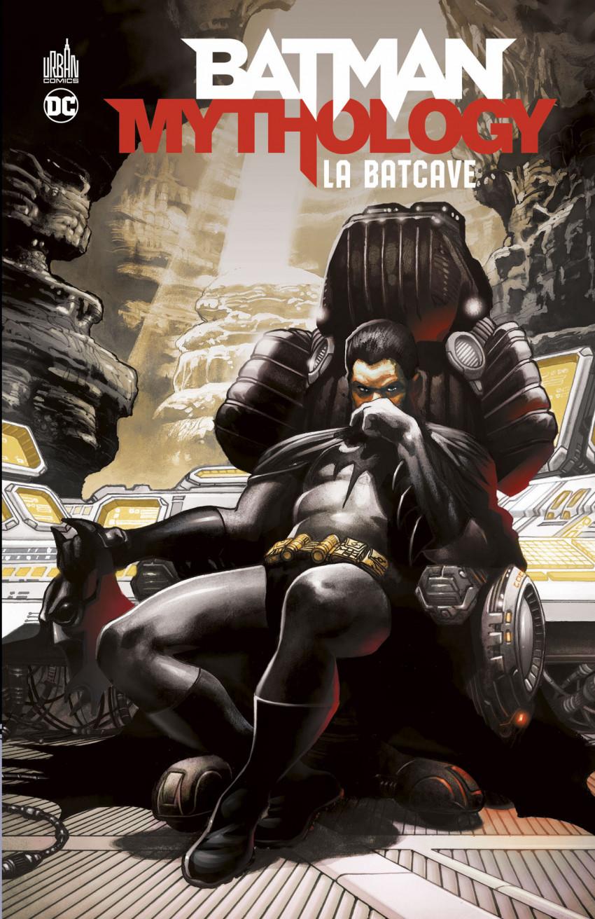 Couverture de Batman Mythology -1- La Batcave