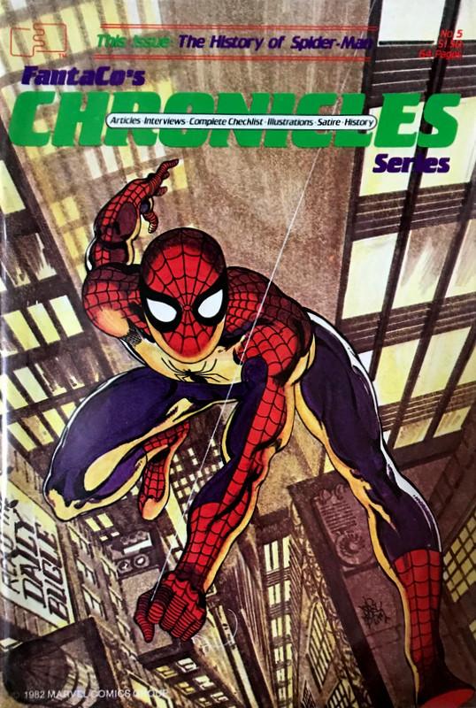 Couverture de FantaCo's Chronicles Series (1981) -5- History of Spider-Man