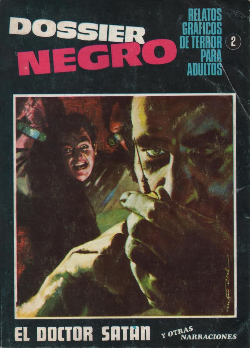 Couverture de Dossier Negro -2- El doctor Satan