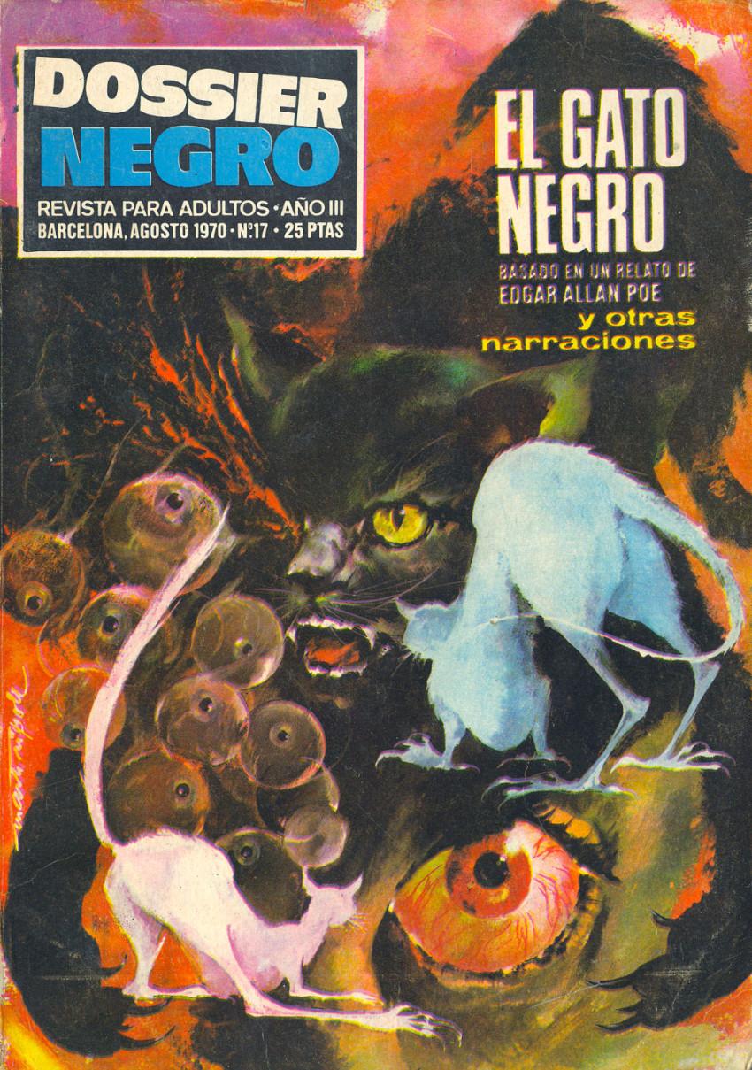 Couverture de Dossier Negro -17- El gato negro