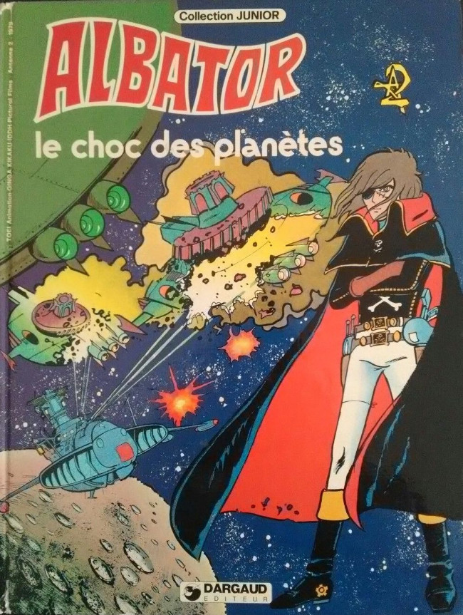 Couverture de Albator (Collection Junior) -4- Le choc des planètes