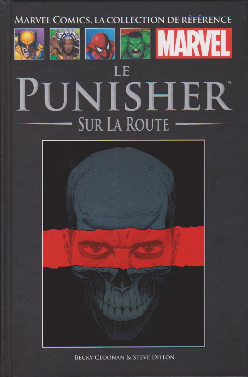 Couverture de Marvel Comics - La collection (Hachette) -173144- Le Punisher : Sur la route