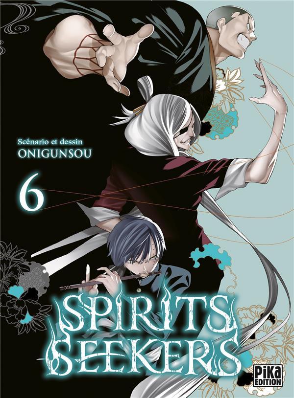 Couverture de Spirits seekers -6- Tome 6