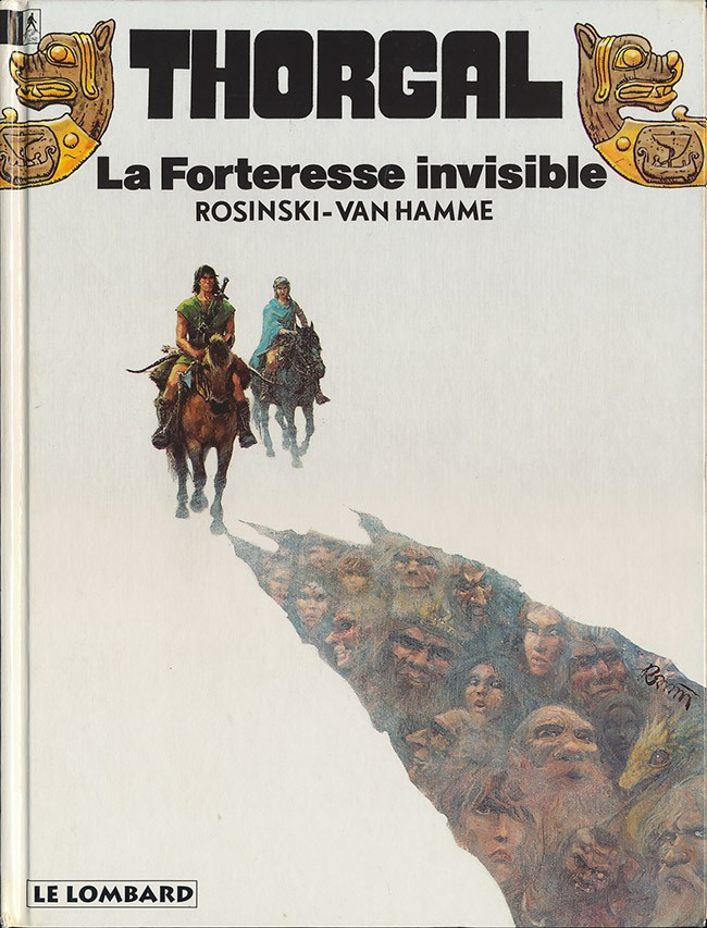 Couverture de Thorgal -19- La forteresse invisible