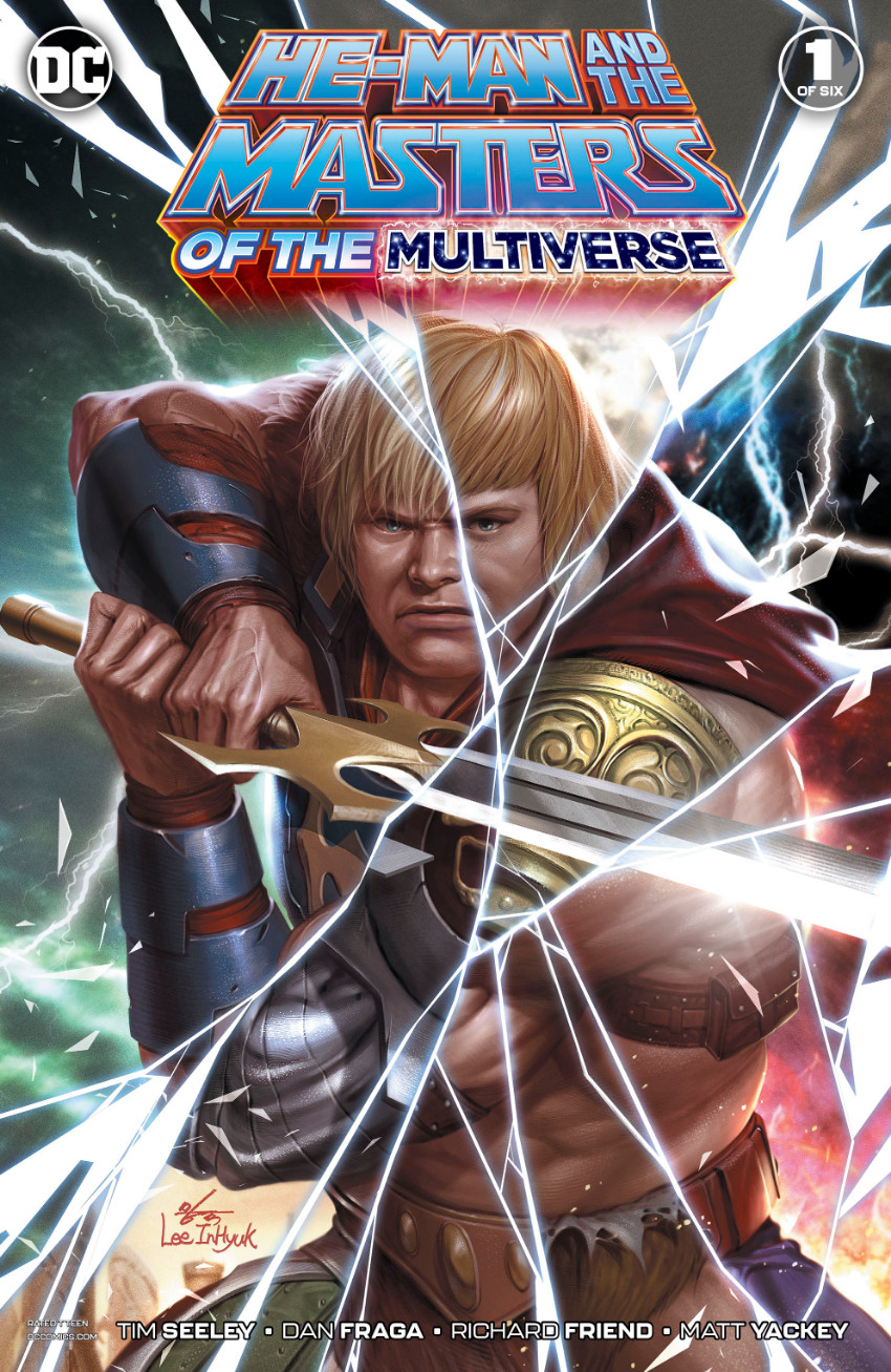 Couverture de He-Man and The Masters of The Multiverse (2019) -1- Issue 1 of six
