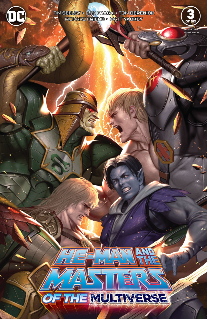 Couverture de He-Man and The Masters of The Multiverse (2019) -3- Issue 3 of six
