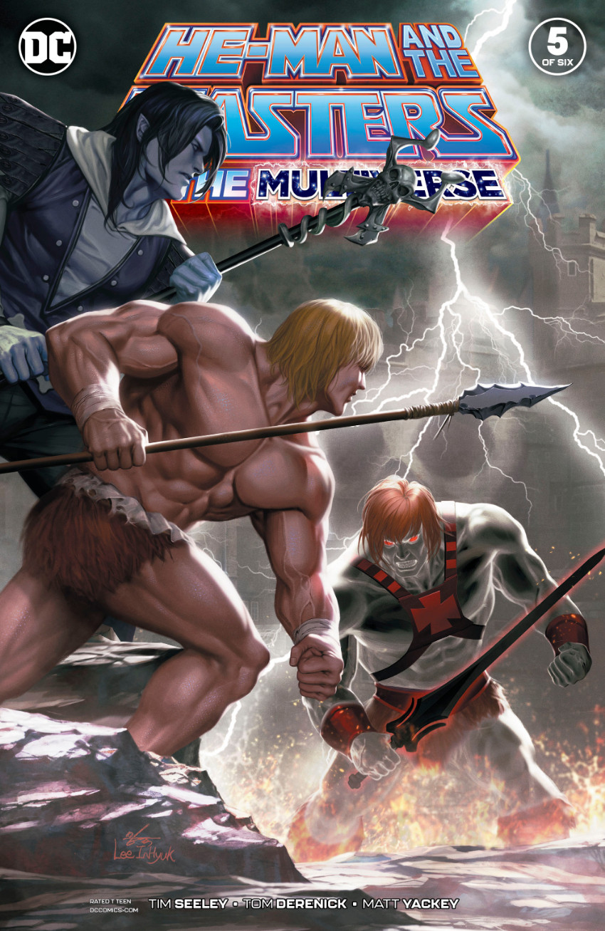 Couverture de He-Man and The Masters of The Multiverse (2019) -5- Issue 5 of six