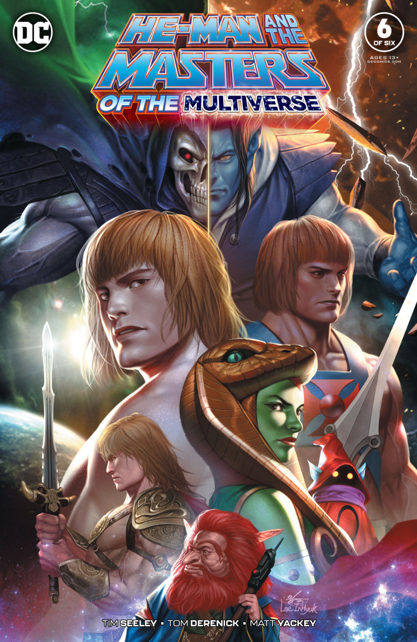 Couverture de He-Man and The Masters of The Multiverse (2019) -6- Issue 6 of six