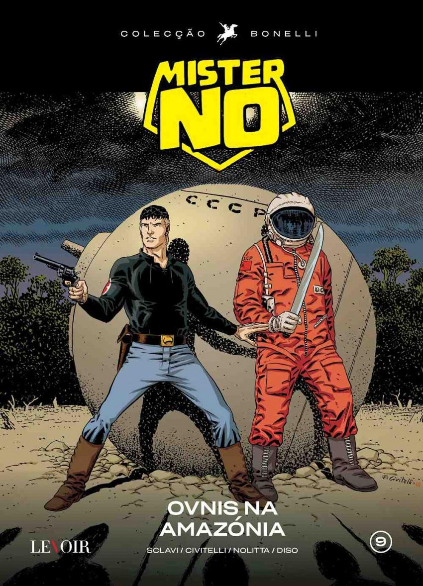 Couverture de Mister No (en portugais) - OVNIS na Amazónia