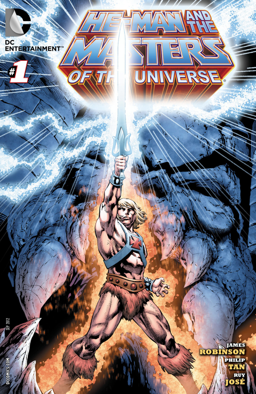 Couverture de He-Man and the Masters of the Universe (2012) -1- The Seeker
